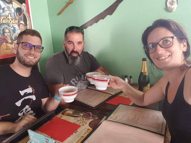 La Fratrie réunie à Rambouillet
