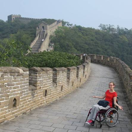 Ce que Blandine peut vous apprendre sur les voyages en fauteuil roulant