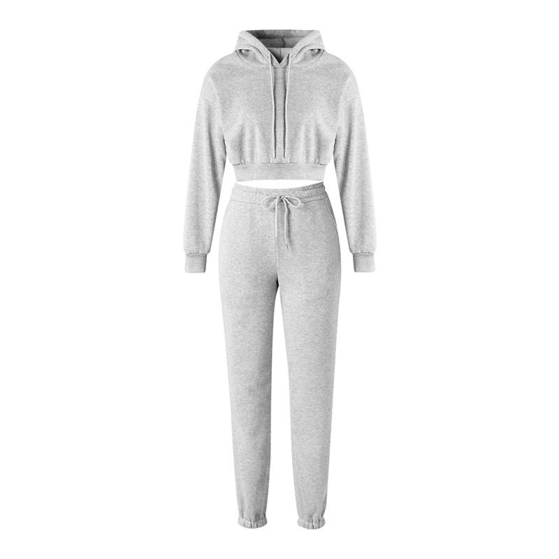 Hirigin 2020 hiver mode tenues pour femmes survêtements à capuche sweat et pantalons de survêtement sport décontracté 2 pièces ensemble sweats