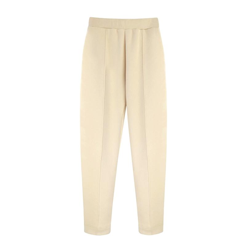 Aachoae 2020 femmes unisexe Couple polaire 100% coton costumes 2 pièces ensembles décontracté survêtements à capuche sweat pantalon grande taille