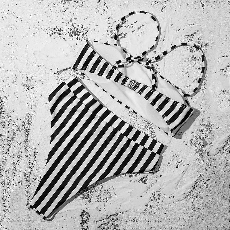 ZTVitality Sexy Maillot de bain femme 2021 Vente chaude Bikinis Push Up String Bikini couleur unie maillot de bain Coussin de poitrine Léopard Bikini Femme S-XL