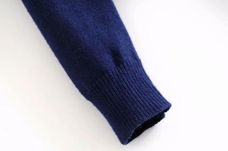 TRAF-Cardigan Vintage élégant, motif géométrique, pull tricoté court, mode manches longues, vêtements d'extérieur Style anglais, Chaqueta