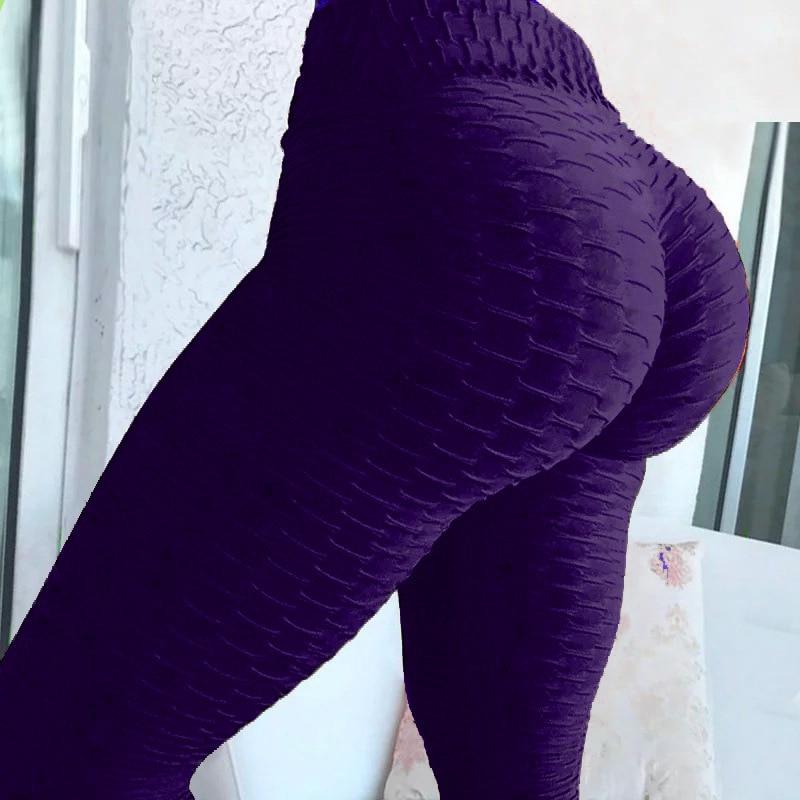 2020 nouveau bosses Style Leggings mis hanche pli élastique taille haute Legging respirant pantalon mince Sports d'intérieur