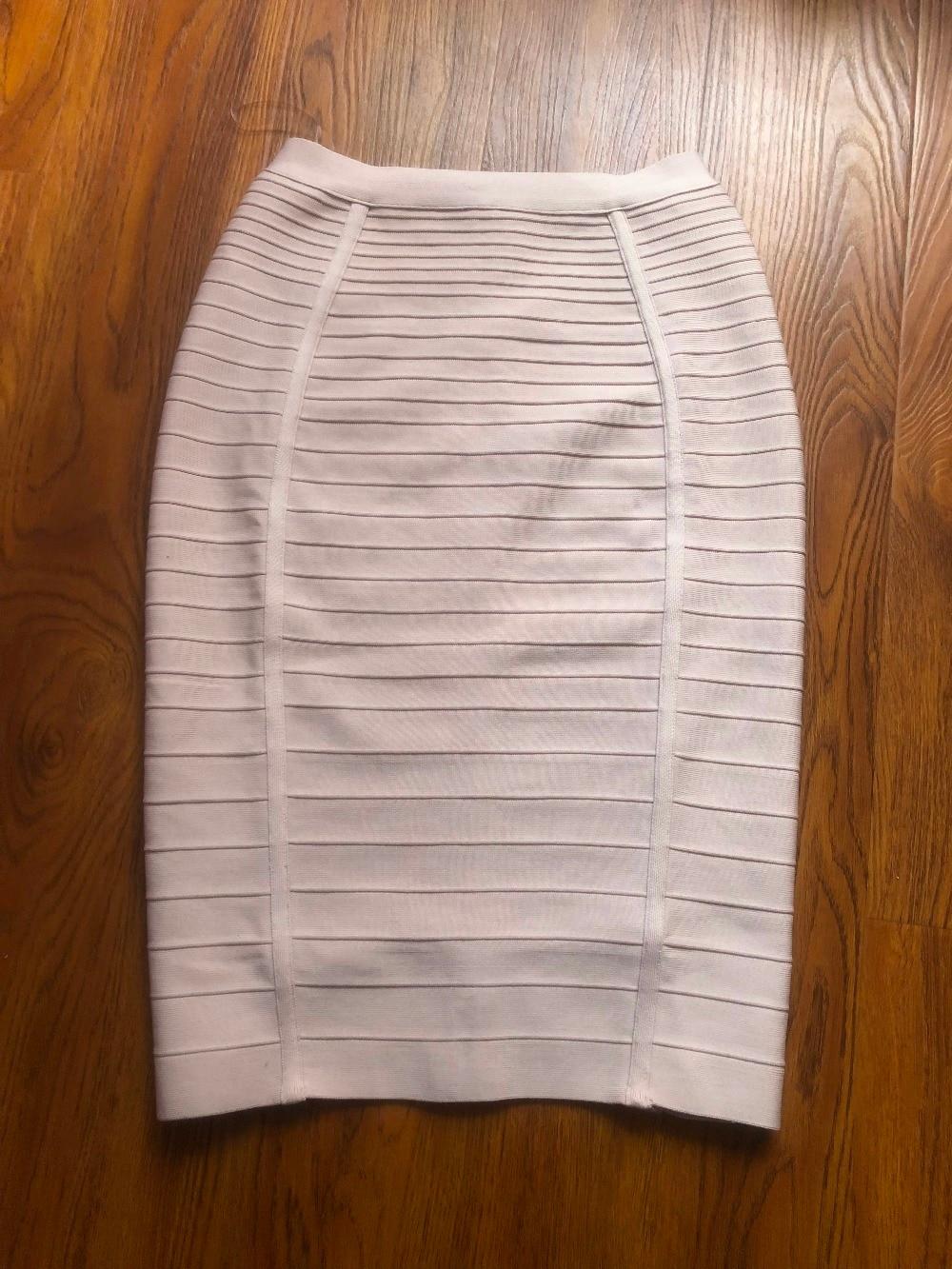 12 couleurs Sexy solide fermeture éclair Orange bleu noir jupe de pansement femmes élastique moulante été grande taille XL XXL crayon jupes 58cm
