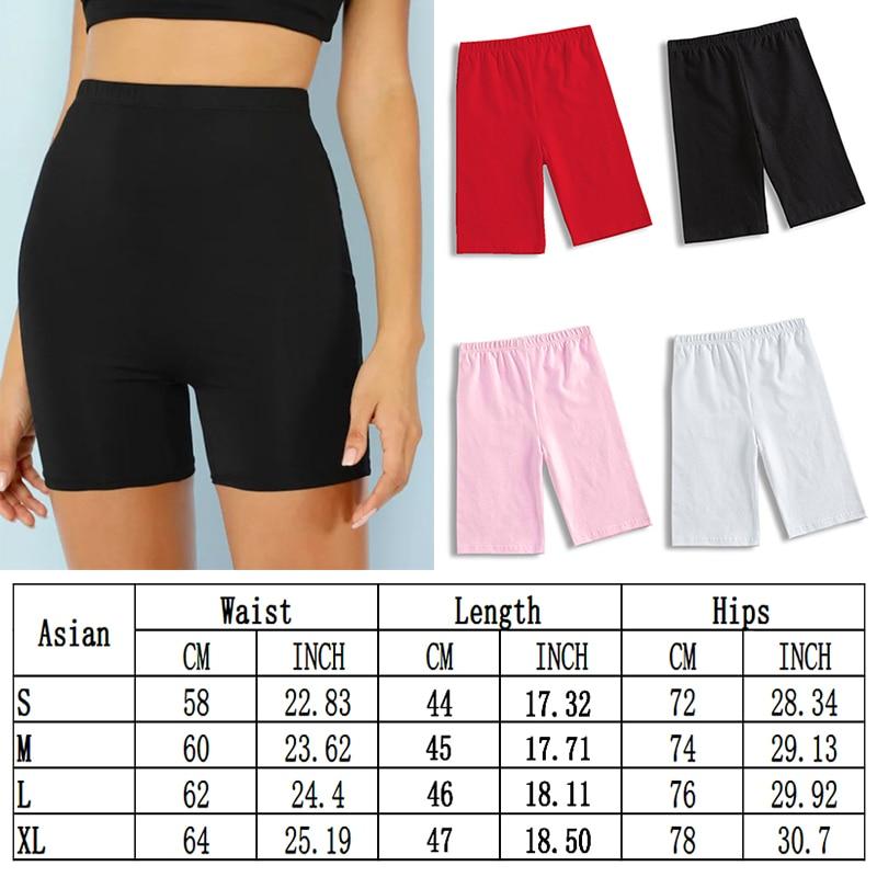 2020 été mode Shorts femmes Sexy Biker Shorts Fitness coréen décontracté Sexy court 4 couleurs athloisirs cyclisme Shorts S-XL