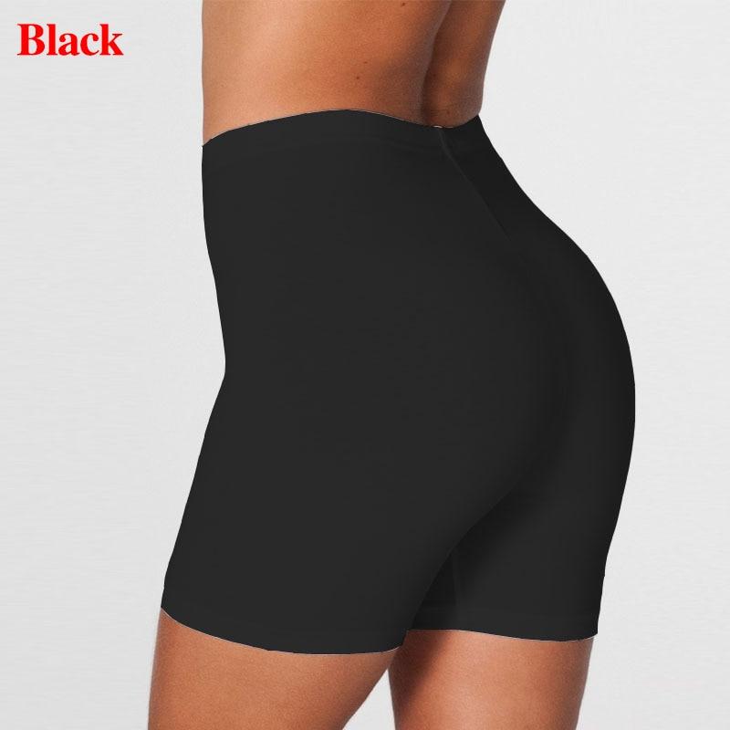 2020 grande taille femmes Shorts élastiques décontracté taille haute serré Fitness mince maigre fonds été solide Sexy blanc noir Shorts