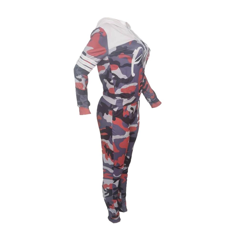 2019 rose Lettre Imprimé Survêtements Femmes Deux Pièces Ensemble Spring Street t-shirts hauts Et survêtement Ensemble Costumes Décontracté 2 pièces tenues