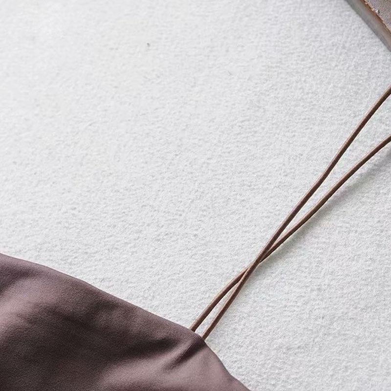 2020 été femmes haut court Sexy élastique coton Camis sans manches court débardeur Bar